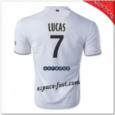 Lucas 7 Maillot Paris Saint Germain Extérieur 2014-15 Europe