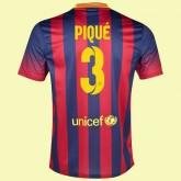 Magasin De Maillot De Fc Barcelone (Gerard Piqué 3) 15/16 Domicile Nike Site Francais