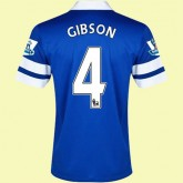 Magasin De Maillot De Foot Everton (Gibson 4) 15/16 Domicile Nike