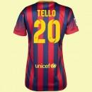 Magasin De Maillot De Football Femme (Tello 20) Fc Barcelone 2014 2015 Domicile Nike France Magasin