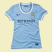 Magasin De Maillot Foot Femme Manchester City 15/16 Domicile Personnalisable #3153 Vente En Ligne