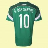 Magasin De Maillot Mexique (Giovani Dos Santos 10) 2014 World Cup Domicile Adidas