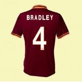 Magasin Maillot De Foot Roma (Bradley 4) 15/16 Domicile Soldes