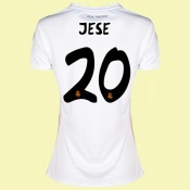Magasin Maillot De Football Femmes Real Madrid Fc (Jese 20) 15/16 Domicile Adidas