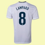 Maillot Angleterre (Lampard 8) 2015/16 Domicile Nike Nouveau