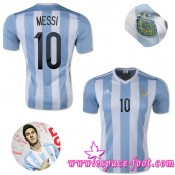 Maillot Argentine Messi 2015 Race Domicile