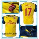 Maillot Arsenal Alexis 2014-15 Extérieur