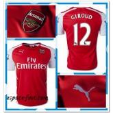 Maillot Arsenal Giroud 2014-15 Domicile