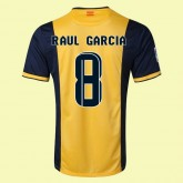 Maillot Atletico Madrid (Raul Garcia 8) 2015/16 Extérieur Fiable Soldes Nice