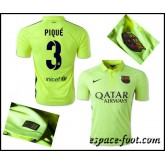 Maillot Barcelone Pique 2015 Race Third Nice