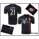 Maillot Bayern Munich Lahm 2015 Race Third France Soldes