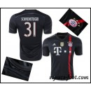 Maillot Bayern Munich Schweinsteiger 2015 Race Third Site Officiel France
