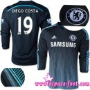 Maillot Chelsea Diego Costa 2015 Race Third Manche Longue Catalogue