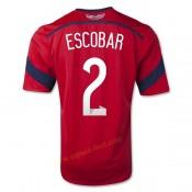 Maillot Colombie 2014 Coupe Du Monde Escobar Exterieur Lyon
