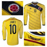 Maillot Colombie Ml James 2014 2015 Domicile Provence