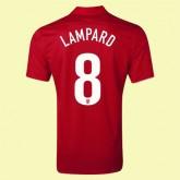 Maillot De Angleterre (Lampard 8) 2014-2015 Extérieur Nike Officiel Achat