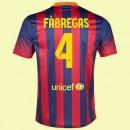 Maillot De Barcelone (Cesc Fàbregas 4) 2014-2015 Domicile Nike Nouveau