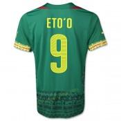 Maillot De Cameroun 2014 Coupe Du Monde Eto'O Domicile Rabais Paris
