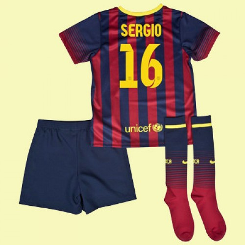 Maillot Domicile FC Barcelona Sergio