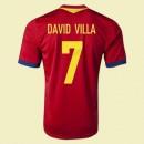 Maillot De Espagne (David Vill 7) 2015/16 Domicile Adidas France Site Officiel