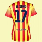 Maillot De Femmes Fc Barcelone (Alex Song 17) 2014-2015 Extérieur Nike Vente En Ligne