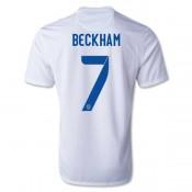 Maillot De Foot 2014/2015 Angleterre Domicile Coupe Du Monde (7 Beckham)