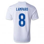 Maillot De Foot 2014/2015 Angleterre Domicile Coupe Du Monde (8 Lampard)