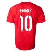 Maillot De Foot 2014/2015 Angleterre Exterieur Coupe Du Monde (10 Rooney)