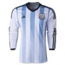 Maillot De Foot 2014/2015 Argentin Domicile Manche Longue Coupe Du Monde