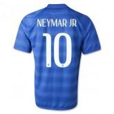 Maillot De Foot 2014/2015 Bresil Exterieur Coupe Du Monde (10 Neymar Jr)