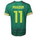Maillot De Foot 2014/2015 Cameroun Domicile Coupe Du Monde (11 Makoun) Rabais En Ligne