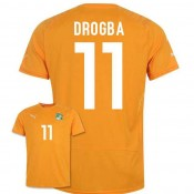 Maillot De Foot 2014/2015 Cote D'Ivoire Domicile Coupe Du Monde (11 Drogba) France Site Officiel