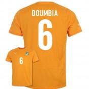 Maillot De Foot 2014/2015 Cote D'Ivoire Domicile Coupe Du Monde (6 Doumbia) Pas Cher Provence