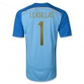 Maillot De Foot 2014/2015 Espagne Domicile Gardien De But Coupe Du Monde (1 I.Casillas) Soldes Lyon