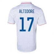 Maillot De Foot 2014/2015 Etats-Unis Domicile Coupe Du Monde (17 Altidore)