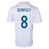 Maillot De Foot 2014/2015 Etats-Unis Domicile Coupe Du Monde (8 Dempsey)