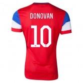Maillot De Foot 2014/2015 Etats-Unis Exterieur Coupe Du Monde (10 Donovan)