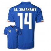 Maillot De Foot 2014/2015 Italie Domicile Coupe Du Monde (14 El Shaarawy)