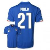 Maillot De Foot 2014/2015 Italie Domicile Coupe Du Monde (21 Pirlo)
