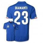 Maillot De Foot 2014/2015 Italie Domicile Coupe Du Monde (23 Diamanti)