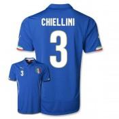 Maillot De Foot 2014/2015 Italie Domicile Coupe Du Monde (3 Chiellini)