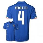 Maillot De Foot 2014/2015 Italie Domicile Coupe Du Monde (4 Verratti)
