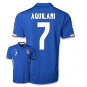 Maillot De Foot 2014/2015 Italie Domicile Coupe Du Monde (7 Aquilani)
