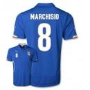 Maillot De Foot 2014/2015 Italie Domicile Coupe Du Monde (8 Marchisio)