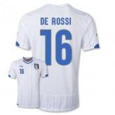 Maillot De Foot 2014/2015 Italie Exterieur Coupe Du Monde (16 De Rossi)