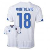 Maillot De Foot 2014/2015 Italie Exterieur Coupe Du Monde (18 Montolivio)