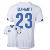 Maillot De Foot 2014/2015 Italie Exterieur Coupe Du Monde (23 Diamanti)