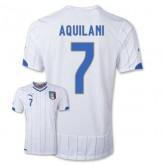 Maillot De Foot 2014/2015 Italie Exterieur Coupe Du Monde (7 Aquilani)