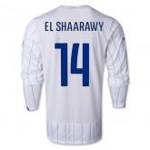Maillot De Foot 2014/2015 Italie Exterieur Manche Longue Coupe Du Monde (14 El Shaarawy)