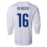 Maillot De Foot 2014/2015 Italie Exterieur Manche Longue Coupe Du Monde (16 Derossi)